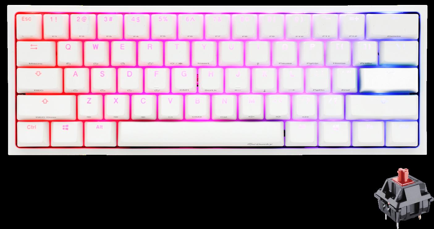 Ducky One 2 Mini White Edition