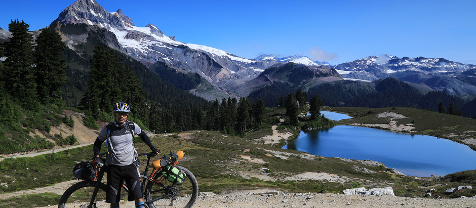 S24O bikepacking trip to Elfin Lake