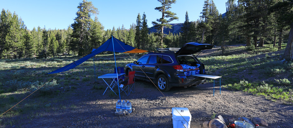 First Overlanding Trip - Eastern Sierras