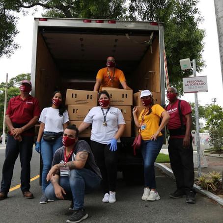 Villa Palmeras y su solidaridad ante la necesidad