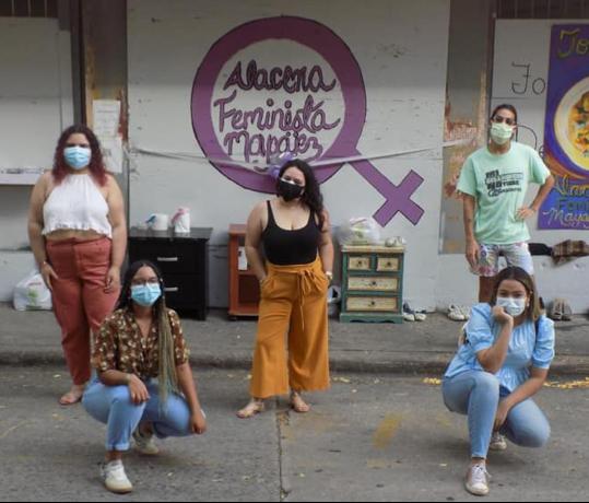 Alacena Feminista en pro del bienestar en Mayagüez