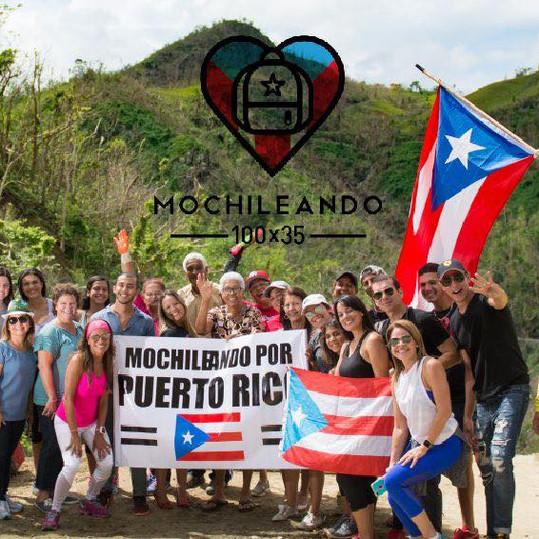 Fundación Mochileando 100 x 35