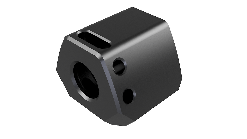 9MM COMPENSATOR MODEL 1, DESIGNED FOR WALTHER PPQ