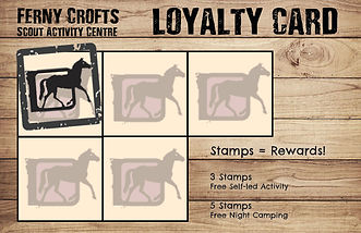 Ferny Crofts Loyalty Card