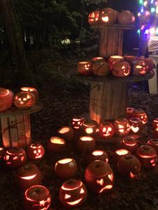 Campfire Pumpkins