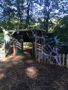 Spooky Tunnel Entrance