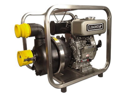Tier 3 Diesel Powered Maritime Trash Water Pump @ Diesel America West