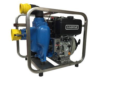 Portable Diesel Self Priming Pump @ Diesel America West
