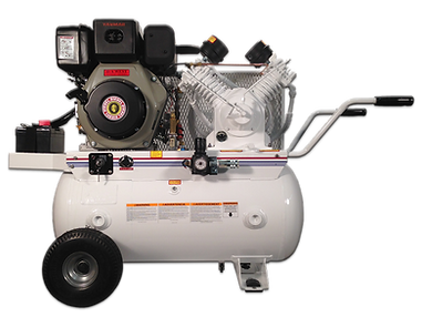 Diesel Powered Portable Air Compressors