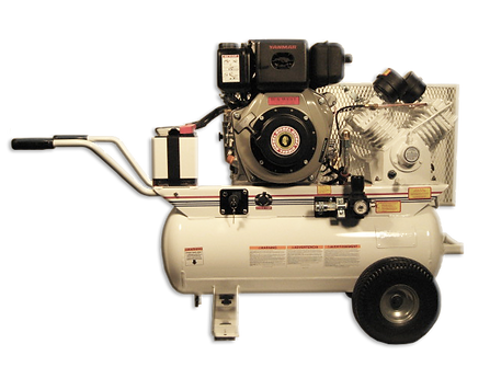 Diesel Powered Portable Air Compressors