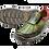 Thumbnail: Krisbut Slipper 5363-3-1 Grün