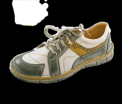 Krisbut Schnürer 2284-1-1 Grau / Gelb