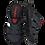 Thumbnail: Krisbut Pantolette Herren 1130A-6-1 Schwarz-Anthrazit-Rot
