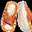 Thumbnail: Krisbut Pantolette SCHMAL 7031-6-1 Orange