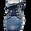 Thumbnail: Krisbut Schnürer 2466-3-1 Blau gebrusht