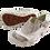 Thumbnail: Krisbut Slipper 2400-3-1 Grau