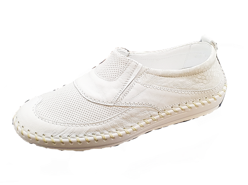 Krisbut Slipper  2409-1-1 weiß