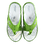 Thumbnail: Krisbut Pantolette Flip Flop / Zehentrenner 7034-3-1 Apfelgrün