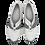 Thumbnail: SIMEN Komfort-Lederpumps 3648A Weiß Weite G