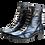 Thumbnail: EKSBUT Damen Stiefelette Blau Metallic F63