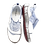 Thumbnail: Krisbut Slipper 2448A-6-1 Blau -Weiß