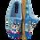 Thumbnail: ALBEROLA KINDER HAUSSCHUH / PANTOFFEL HELLE SOHLE A23759A EINHORN GLITZERSTERNEN