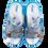 Thumbnail: Krisbut Pantolette 7047-3-1 Blau