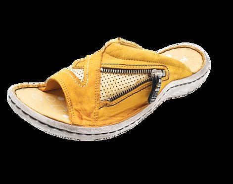 Krisbut Pantolette 7052-3-1 Gelb