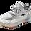 Thumbnail: Artiker Sneaker Weiß-Grau  / Regenbogensohle 48C1370