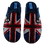 Thumbnail: ALBEROLA HAUSSCHUH / PANTOFFEL HELLE SOHLE AC3182 HERREN FLAGGE ENGLAND