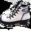 Thumbnail: Artiker Stiefelette / Leder Boots Weiß 47C0525