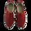 Thumbnail: Krisbut Slipper 5334-2-1 Rot