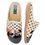 Thumbnail: ALBEROLA HAUSSCHUH / PANTOFFEL HELLE SOHLE ENGLISCHE BULLDOGGE A7952