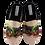 Thumbnail: SCHUHKÖNIG Hausschuh Pantoffel HELLE Sohle Hunde Rottweiler ROTTIS 5555