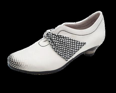SIMEN Komfort-Lederpumps 3648A Weiß Weite G