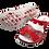 Thumbnail: Krisbut Pantolette 7015-6-1 Rot