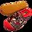 Thumbnail: ALBEROLA HAUSSCHUH / PANTOFFEL HELLE SOHLE BULLDOGGE A8682A PINK