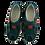 Thumbnail: Kacper Slipper 1-6104 Dunkelblau/Rot