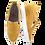 Thumbnail: Lanqier Comfort Keilslipper Velourleder 46C1759 Senfgelb