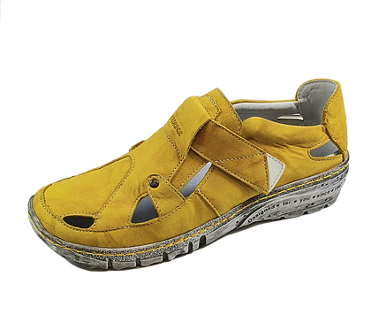 Kacper Slipper 2-5491 Gelb- fällt groß aus