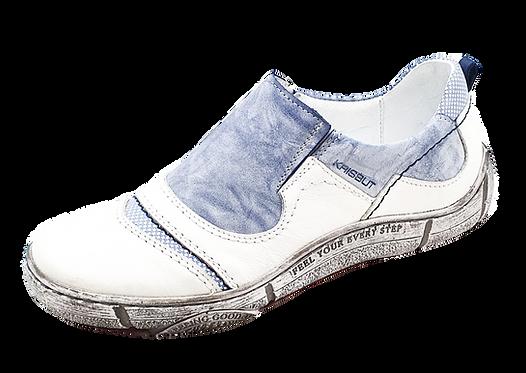 Krisbut Slipper 2448A-6-1 Blau -Weiß