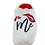 """Thumbnail: ALBEROLA HAUSSCHUHE PANTOFFEL Z24114AP """"KISS ME"""""""