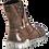 Thumbnail: KRISBUT Damen Stiefel Schnürboot mit Warmfutter 3028-2-4 braun gebrusht