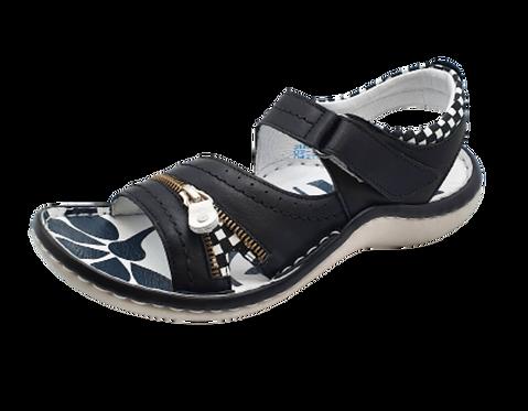 Krisbut Sandalette 2118A11-1 Schwarz