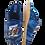 Thumbnail: ALBEROLA HAUSSCHUH / PANTOFFEL HELLE SOHLE BULLDOGGE MIT SKATEBOARD AC3173