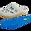 Thumbnail: ALBEROLA HAUSSCHUHE PANTOFFEL Z24129AP  SCHLEIFEN - GLITZER