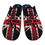Thumbnail: ALBEROLA AC1273 HAUSSCHUH / PANTOFFEL HERREN HELLE SOHLE FLAGGE ENGLAND BLAU