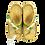 Thumbnail: Krisbut Pantolette Flip Flop / Zehentrenner 7042-4-1 Gelb