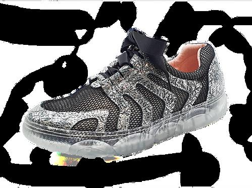 Artiker Sneaker Schwarz-Silber   48C1269