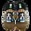 Thumbnail: ALBEROLA HAUSSCHUH / PANTOFFEL HELLE SOHLE HUND FRANZÖSISCHE BULLDOGGE A7965